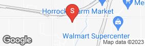 Location of U-Store Minges Creek in google street view