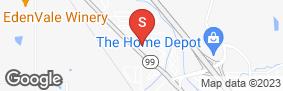 Location of Acorn Self Storage in google street view
