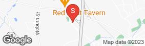 Location of Burlington Self Storage Of Wilmington in google street view