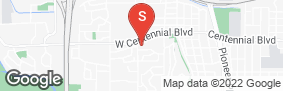 Location of Centennial Self Storage in google street view