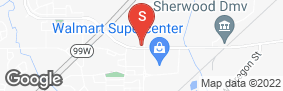 Location of Sentinel Self Storage in google street view