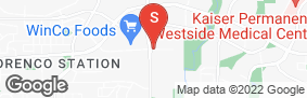 Location of Premier Storage Hillsboro in google street view