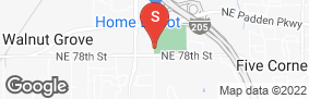Location of West Coast Self-Storage Of Padden Parkway in google street view