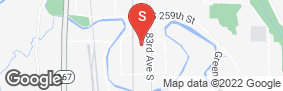 Location of Glacier West Self Storage - Kent in google street view