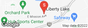 Location of Storage Solutions Liberty Lake Mission in google street view