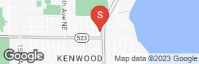 Location of West Coast Self-Storage Sheridan Beach in google street view