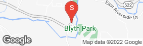 Location of Sherlock Self Storage Bothell in google street view