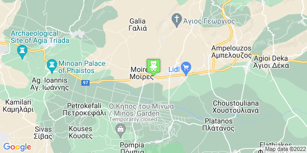 Google Map of 25is Martiou 39, Mires 704 00, Greece