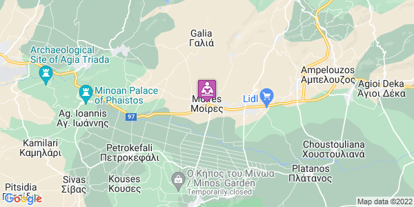 Google Map of Μοίρες 704 00, Ελλάδα