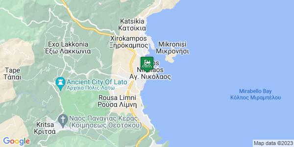 Google Map of Χορτατσών 15, Αγ. Νικόλαος 721 00, Ελλάδα
