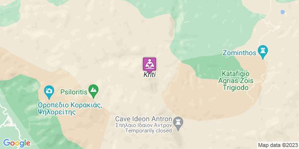 Google Map of Crete, Greece