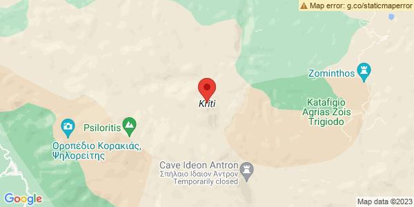 Google Map of Κρήτη, Ελλάδα