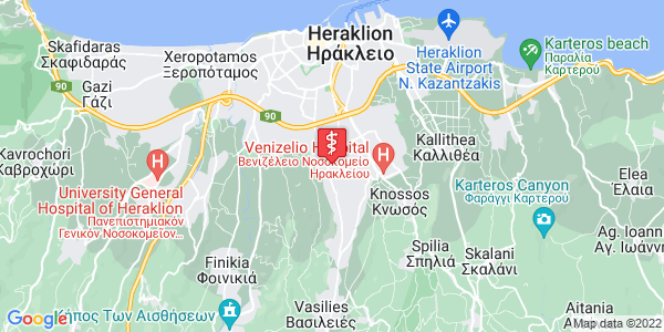 Google Map of Γιαμαλάκη 20, Ηράκλειο 714 09, Ελλάδα