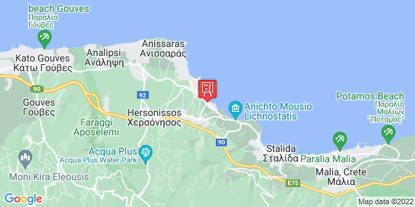 Google Map of Κανιαδάκη 3 Κρήτη, Ελλάδα
