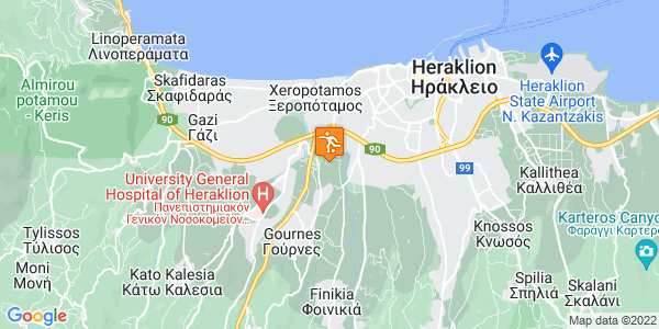 Google Map of Panagias Malevi, Iraklio 714 10, Greece