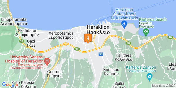 Google Map of Antoniou Kastrinaki 79, Iraklio 713 05, Greece