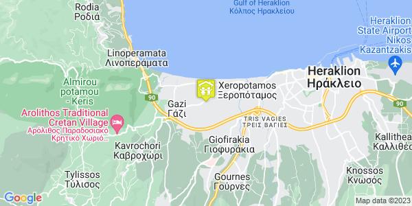 Google Map of Θριάμβου 7, Γάζι 714 14, Ελλάδα