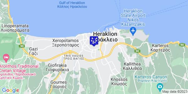 Google Map of Raftopoulou 4, Iraklio 713 05, Greece