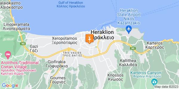 Google Map of Σορβόλου 9, Heraklion, Crete Region, Greece