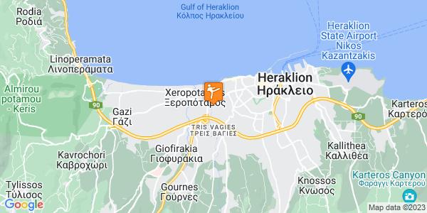 Google Map of Messaras 13, Iraklio 713 04, Greece
