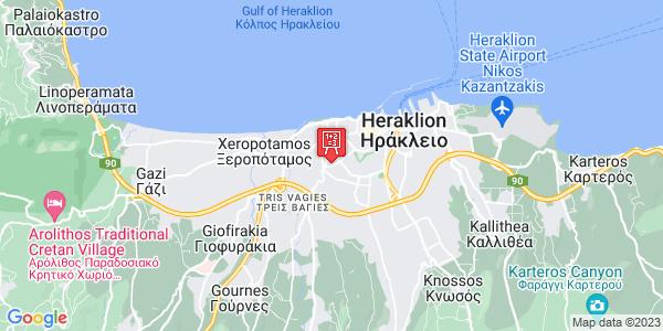 Google Map of Kondilaki 82, Iraklio 713 05, Greece