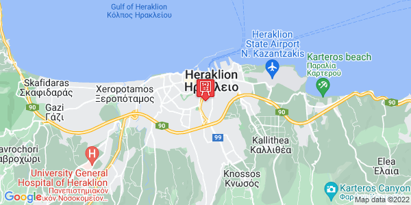 Google Map of Ιτάνου 20, Heraklion, Crete Region, Greece