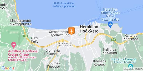 Google Map of Levinou 62, Iraklio 713 04, Greece