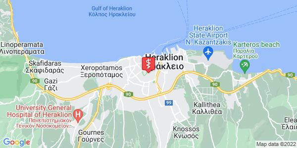 Google Map of Sgouromallinis 2, Iraklio 713 05, Greece