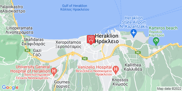 Google Map of Kondilaki 18, Iraklio 713 05, Greece