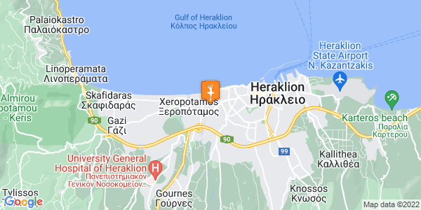 Google Map of Γεωρ. Μαράντη 46, Ηράκλειο 713 03, Ελλάδα