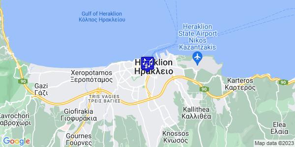Google Map of Geronimaki 11, Iraklio 713 06, Greece