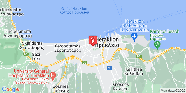 Google Map of Spinalogkas 6, Iraklio 712 01, Greece