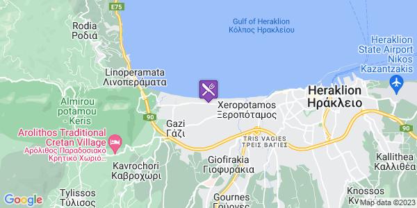 Google Map of Leof. Andrea Papandreou 140, Ag. Dimitrios 714 14, Greece