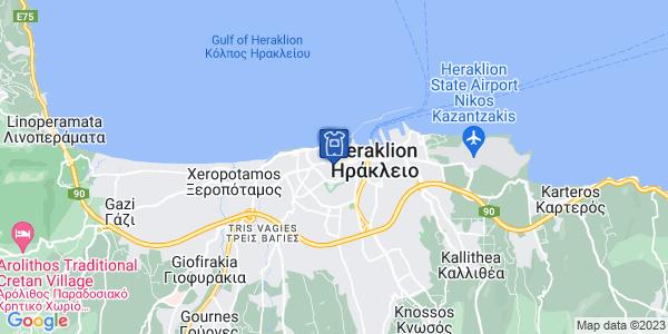 Google Map of Amalthias 14, Iraklio 712 01, Greece