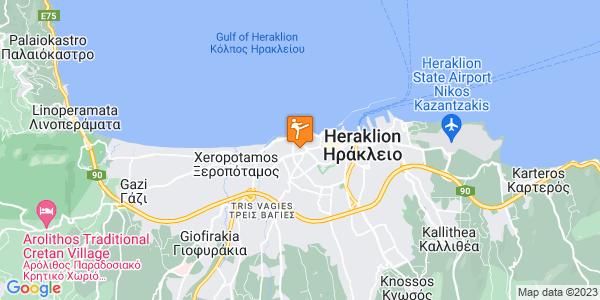 Google Map of Machis Kritis 4, Iraklio 713 03, Greece