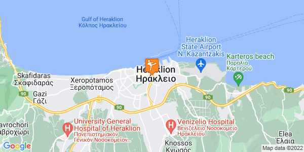 Google Map of Archimidous 20, Iraklio 713 06, Greece