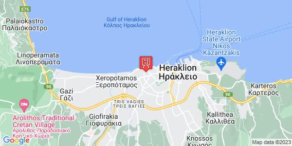 Google Map of Piniou 8, Iraklio 713 03, Greece