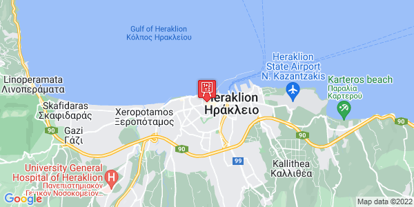 Google Map of Gramvousis, Iraklio 712 01, Greece
