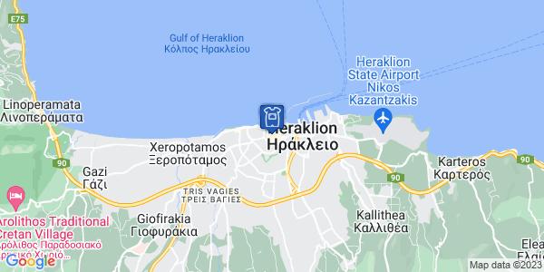 Google Map of Argiraki 9, Iraklio 712 01, Greece