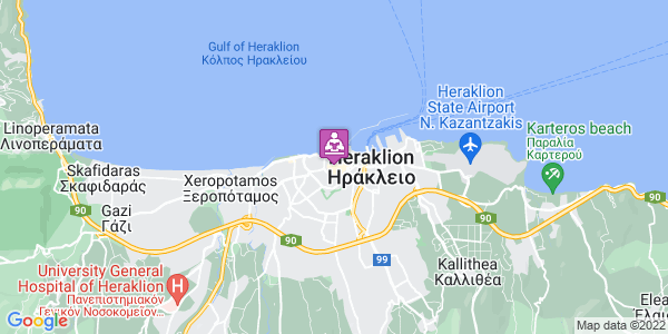 Google Map of Argiraki 3, Iraklio 712 01, Greece