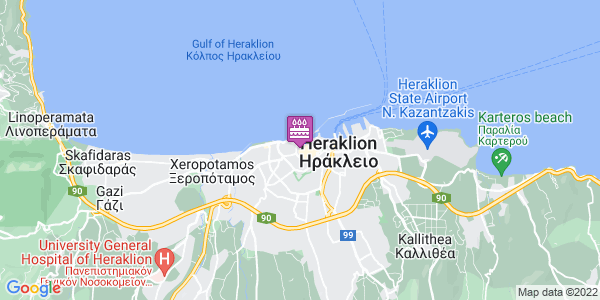 Google Map of Μιχελιδάκη 24, Heraklion, Crete Region, Greece