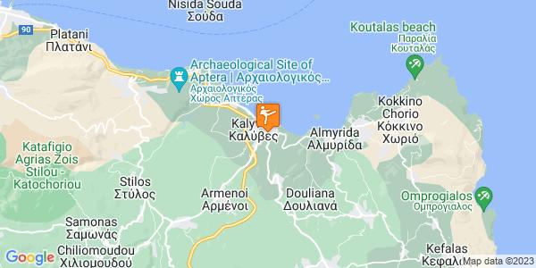 Google Map of Επαρ.Οδ. Αποκορώνου - Χανίων, Kalives 730 03, Greece