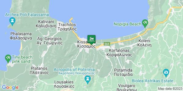 Google Map of Γεωργιακάκη 4, Κίσσαμος 734 00, Ελλάδα