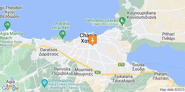 Google Map of Episkopou Agathaggelou Nikolaki 25, Chania 731 35, Greece