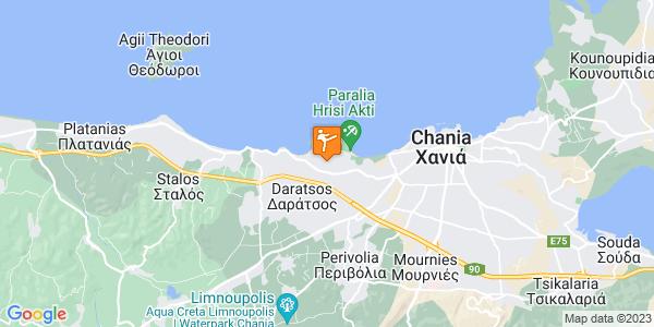 Google Map of Νεάρχου 731 00, Daratsos, Chania, Greece