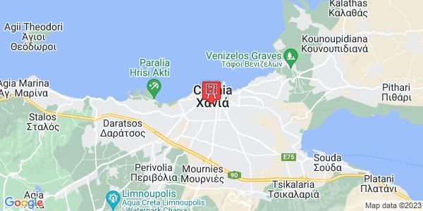 Google Map of Ζυμβρακάκηδων 26, Χανιά 731 36, Ελλάδα