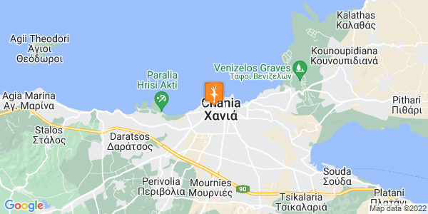 Google Map of Meletiou Piga 3, Chania 731 31, Greece