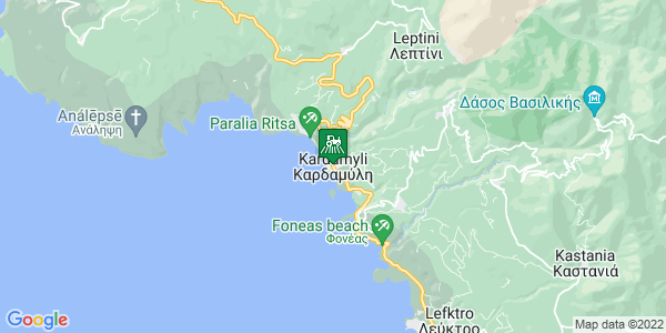 Google Map of Καρδαμύλη 240 22, Ελλάδα