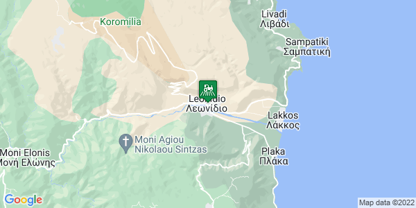 Google Map of 21ης Ιανουαριου, Λεωνίδιο 223 00, Ελλάδα