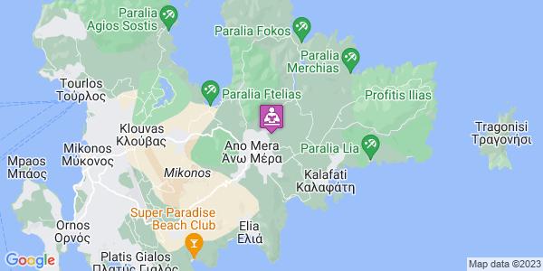 Google Map of Μύκονος